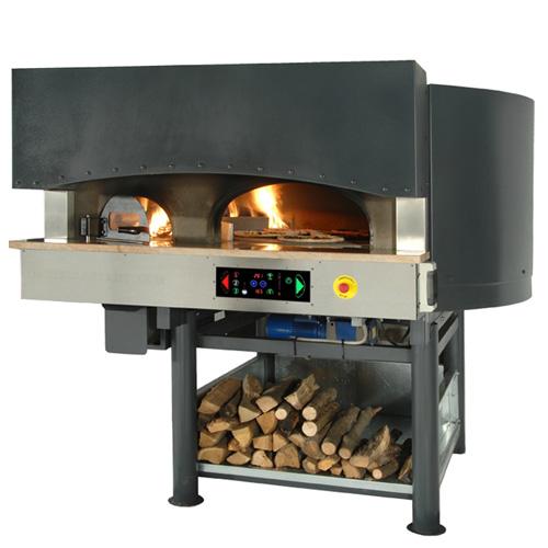 Пицца печь ротационная на дровах и электричестве серия MRE ST купить