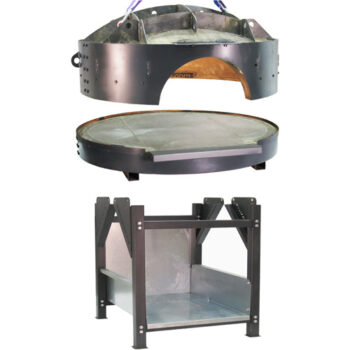Пицца печь разборная на дровах купить, Пицца печь разборная на дровах PAX (3 части)
