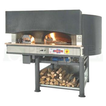 Пицца печь ротационная на дровах и электричестве MRE BBQ ST купить