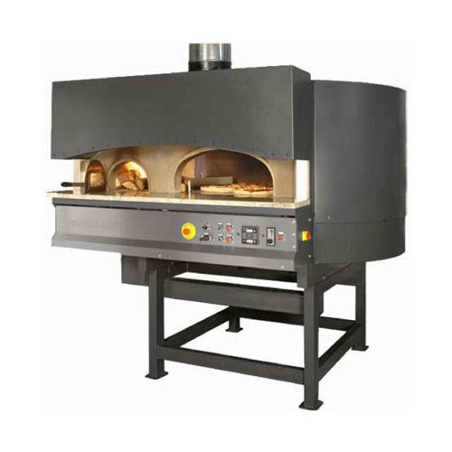 Пицца печь ротационная на дровах и газе MR ST купить