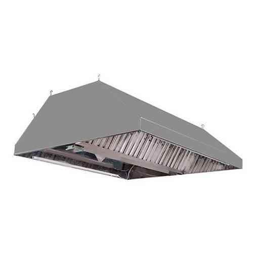 Зонт вытяжной из нержавеющей стали