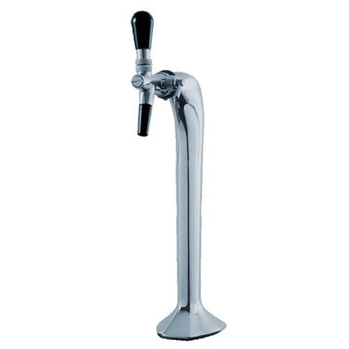 купить пивную колонну Кобра, Пивная колонна Кобра на 1 сорт пива, хром